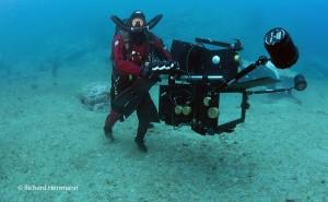 Bob Cranston films in 3D digital